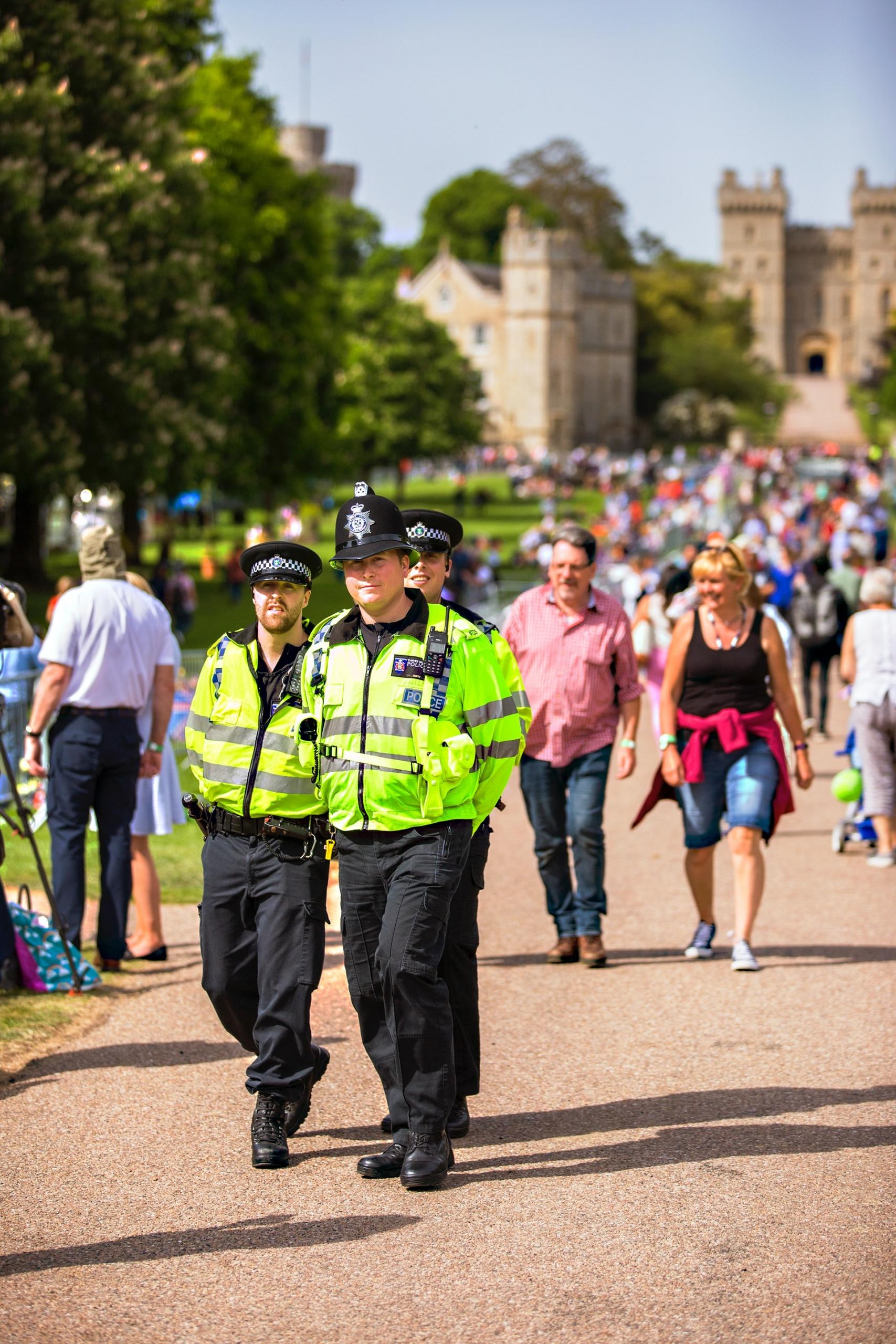 photo of UK police