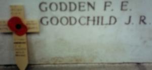 fe godden inscription