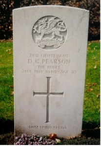 pearson denis c headstone