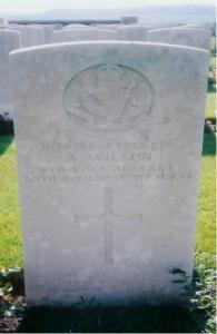 Arthur Wilson Headstone