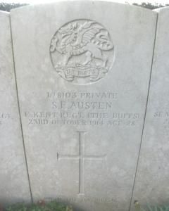 samuel austin headstone