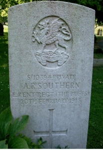 southern alfred headstone