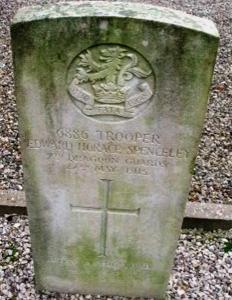 spenceley headstone