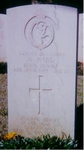 ward alec headstone